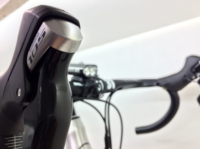 105 and Lezyne Lights fitted...