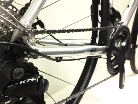 105 Mech and Internal Brake Cabling.